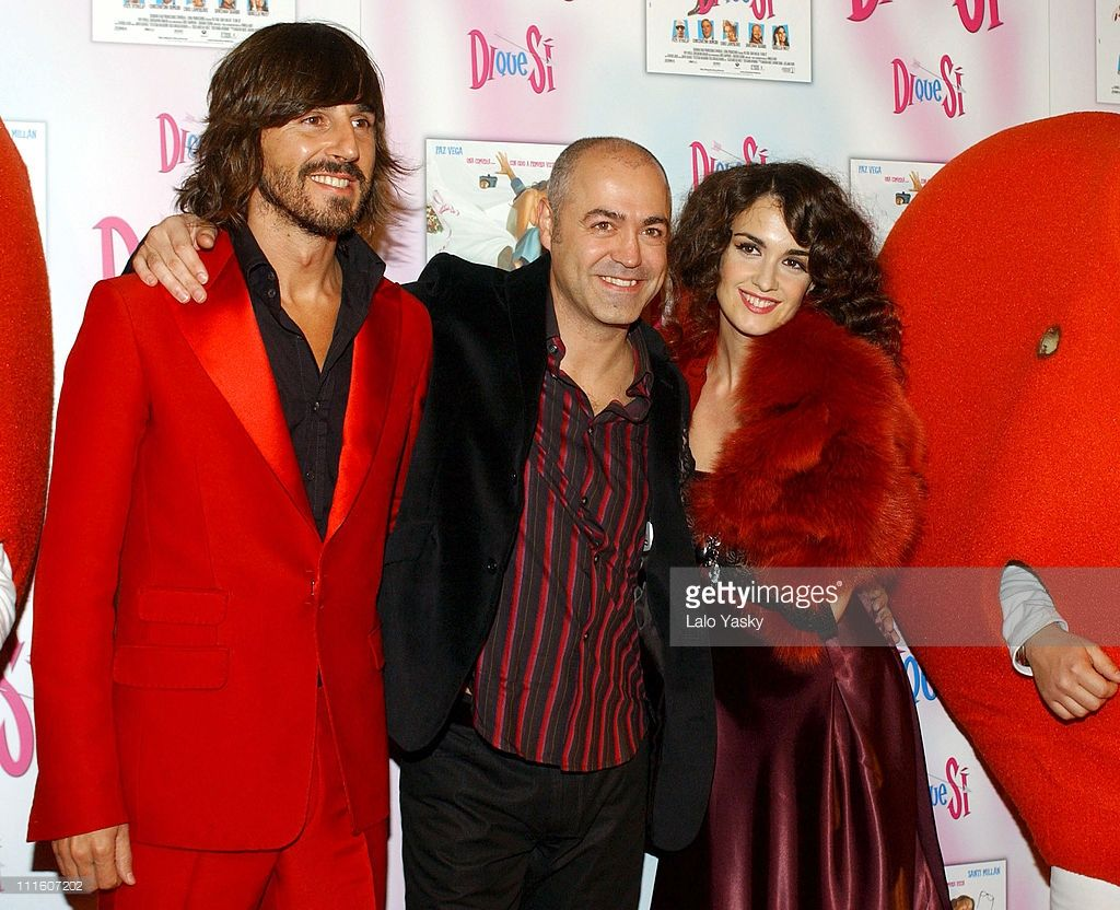 Santi Millan, Director Juan Calvo and Paz Vega